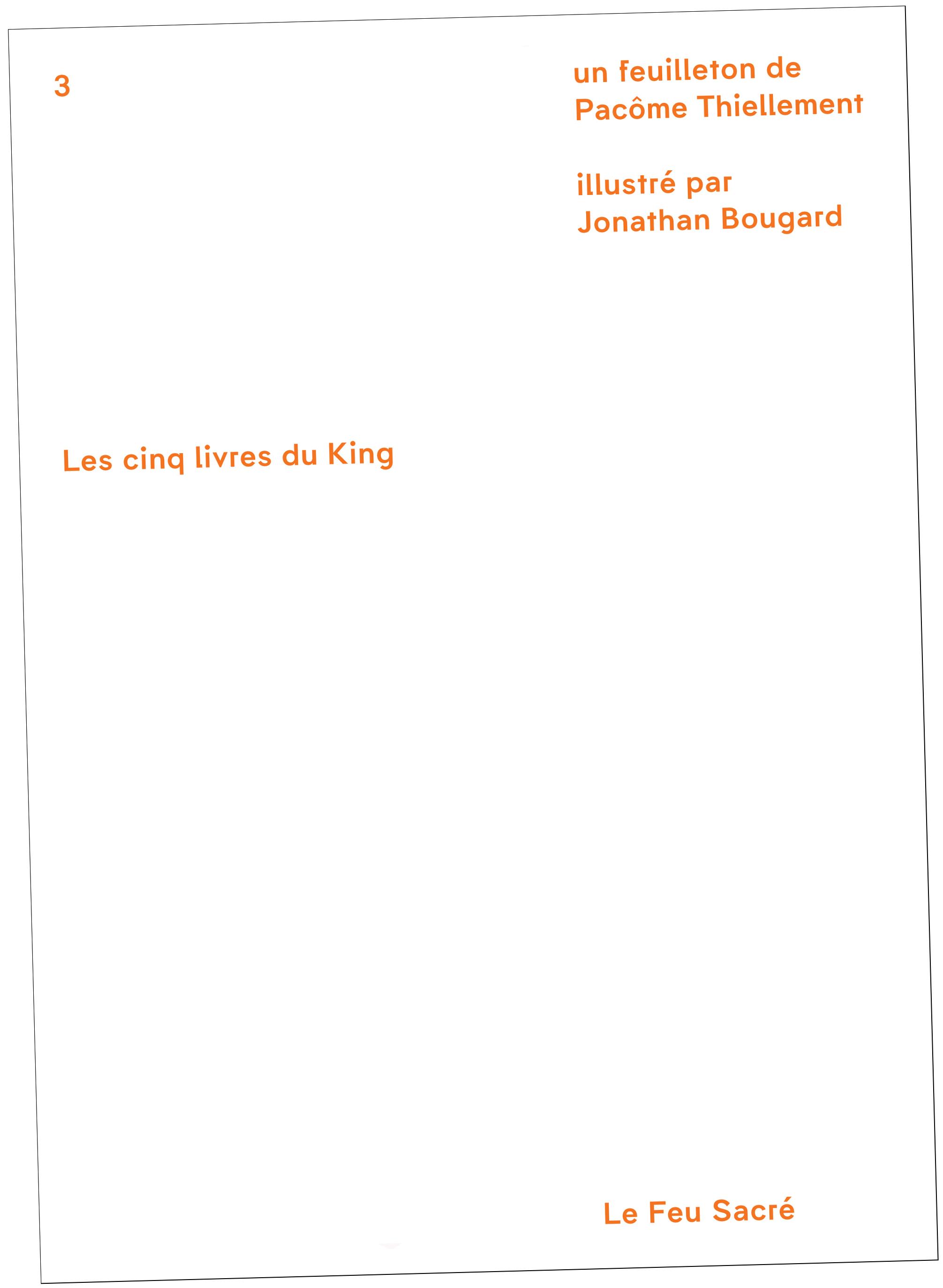Les Cinq Livres du King - Couverture : Bizzarri & Rodriguez